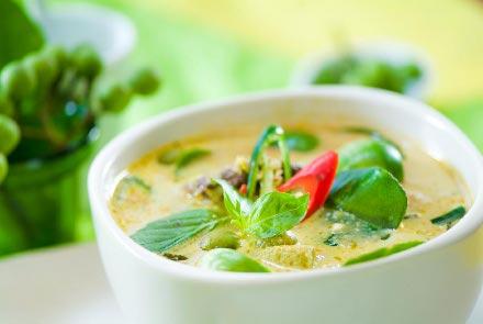 Curry verde da Tailândia