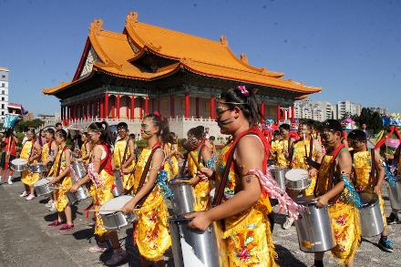 Carnaval brasileiro agita a cidade de Taipé
