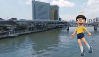 Realidade aumentada com o Doraemon