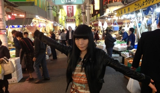 Visita ao Mercadão de Kanazawa
