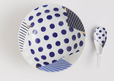 Bowl feito pelo designer Kenjiro Sano