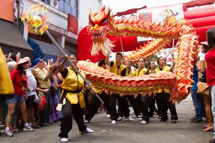 Festa do Ano Novo Chinês da Liberdade, em São Paulo