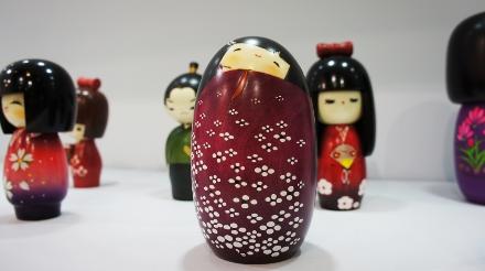 Kokeshi (bonecos de madeira), da Kimura Ohshido