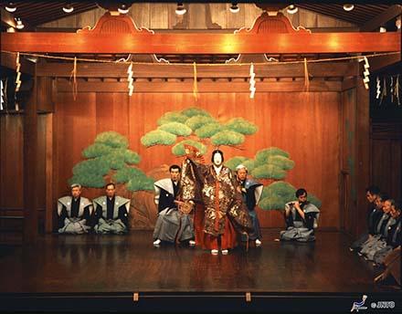Palco do Teatro Noh de Ishikawa