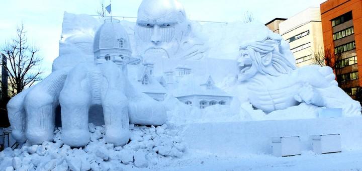 Começa o Festival de Neve em Sapporo