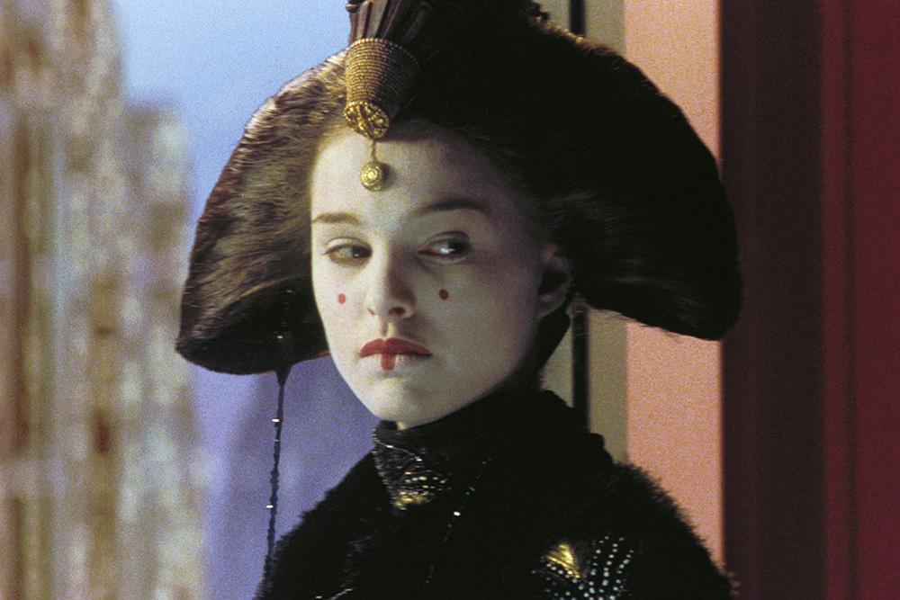 Rainha Amidala em 'A Ameaça Fantasma'