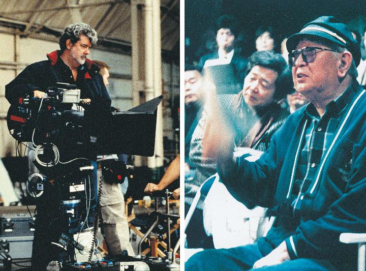 'Kurosawa me influenciou em quase tudo', afirmou George Lucas