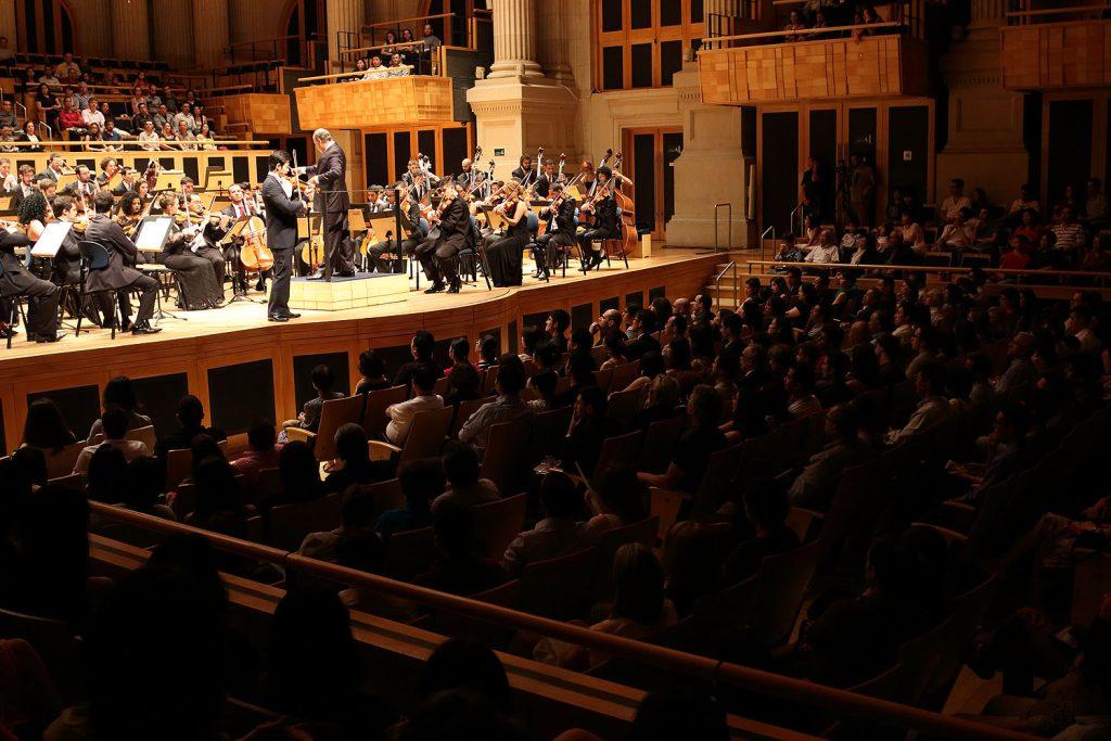 A Sala São Paulo é considerada uma das salas de concerto mais modernas do mundo
