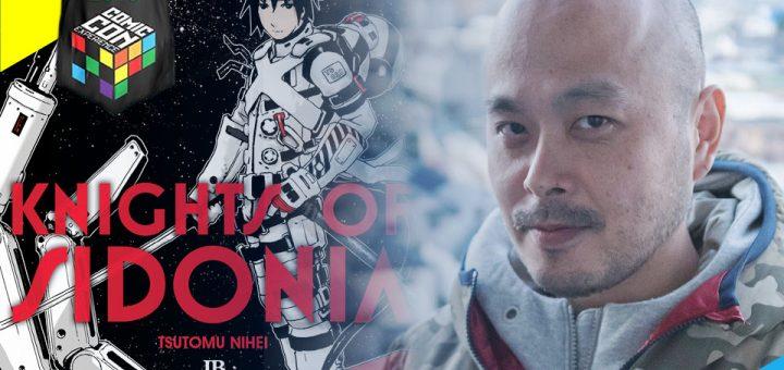 Mangaká Tsutomu Nihei confirma presença na CCXP 2016