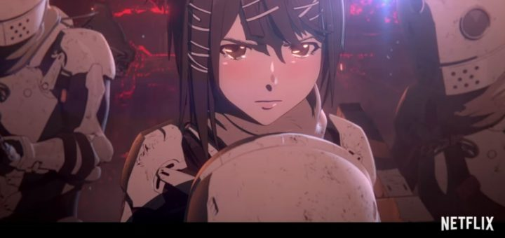 Lançamento do anime Blame!