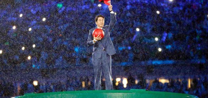 Primeiro-ministro japonês de Mário, nas Olimpíadas