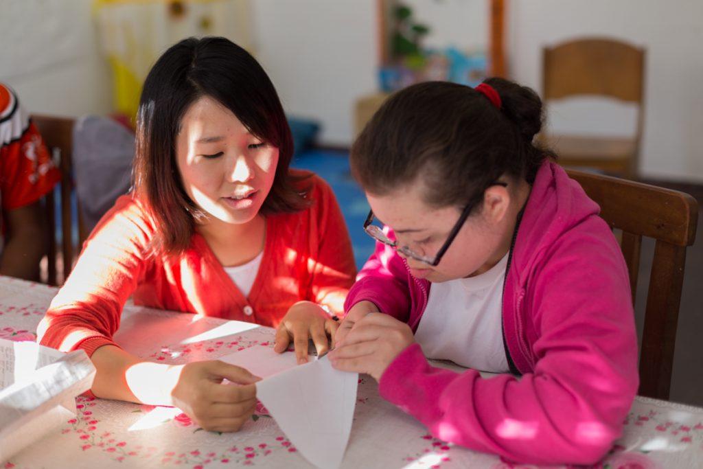 Desenvolvimento do projeto TURN com Sachie na Associação Comunitária Monte Alegre