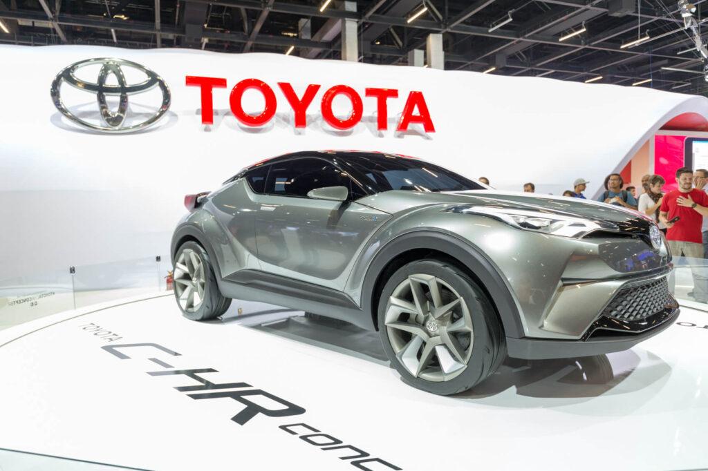 C-HR, o carro-conceito da Toyota