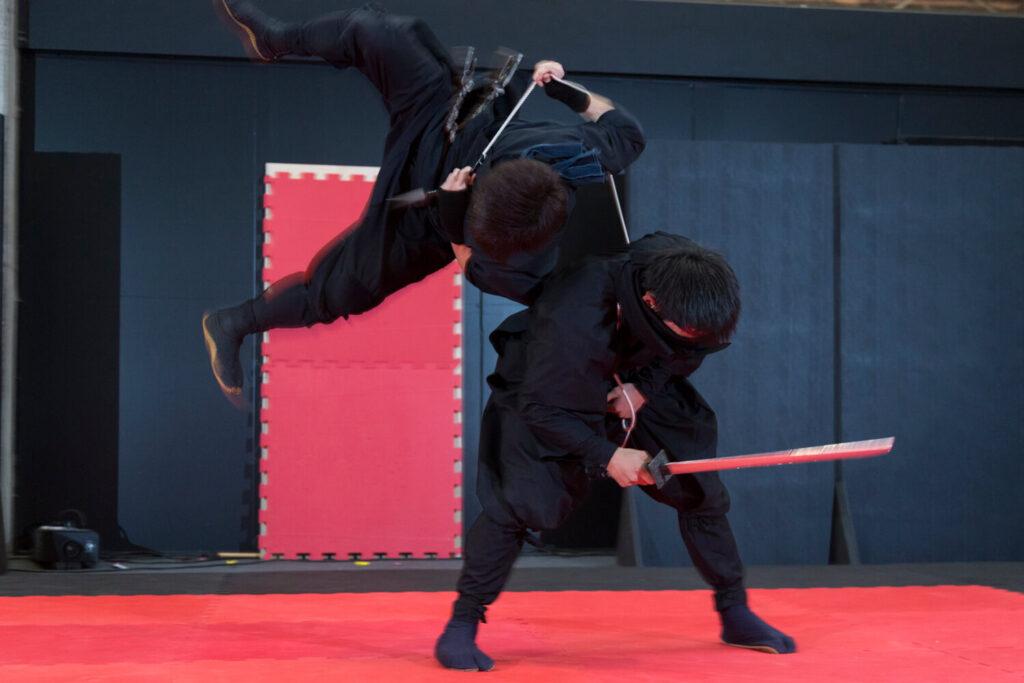 Grupo Ashura mostra a arte ninja na Comic Con Experience 2016