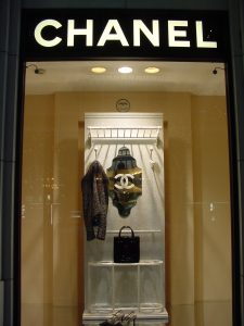 Vitrine da Loja Chanel em Ginza