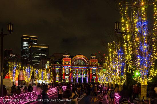 Iluminação de Osaka