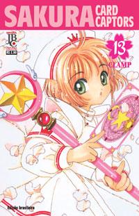 Sakura Card Captors mangás (prévia) Capa_sakura_card_captors_13_g