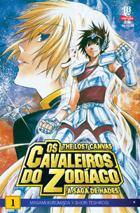capa de Os Cavaleiros do Zodíaco – The Lost Canvas: A Saga de Hades #01