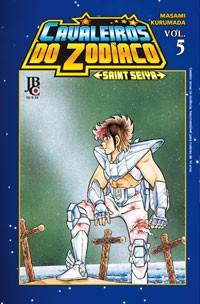 capa de Cavaleiros do Zodíaco - Saint Seiya #05