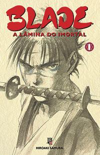 capa de Blade - A Lâmina do Imortal #01