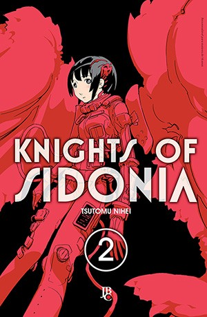 capa de Knights of Sidonia #02