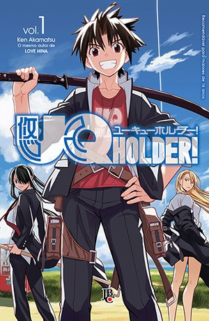 capa de UQ Holder #01
