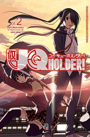 capa de UQ Holder #02
