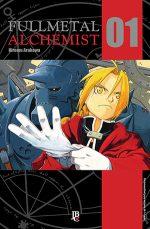 capa de Fullmetal Alchemist #01