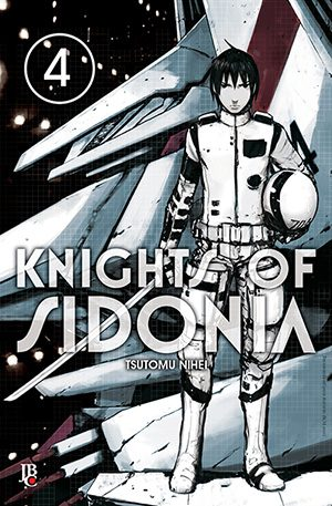 capa de Knights of Sidonia #04