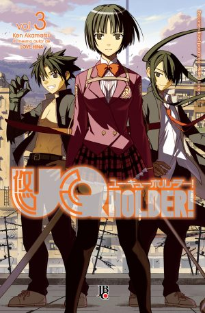 capa de UQ Holder #03