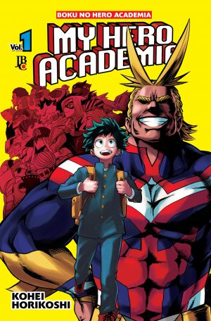 capa de My Hero Academia #01