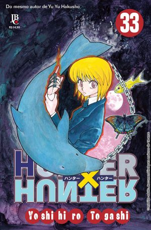 capa de Hunter x Hunter #33
