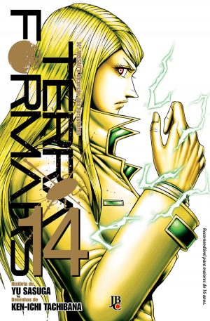 capa de Terra Formars #14