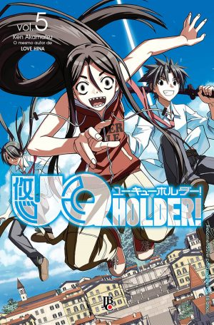 capa de UQ Holder #05