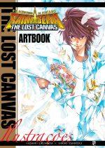 Capa de Artbook Os Cavaleiros do Zodíaco - The Lost Canvas