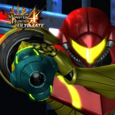 Metroid no Monster Hunter 4 Ultimate