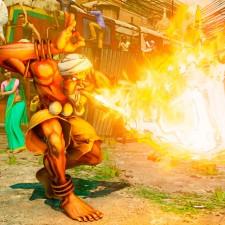 Dhalsim em Street Fighter!
