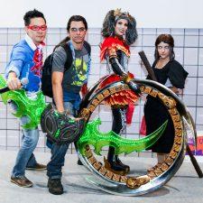 Vencedores do Desfile Cosplay da JBC na CCXP 2016