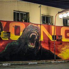 Kong invade a Liberdade em São Paulo
