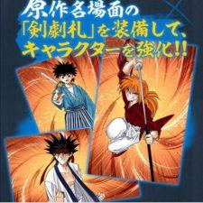 Novo teaser do mobile game 'Rurouni Kenshin'