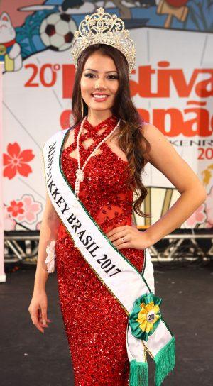 Miss Nikkey Brasil 2017 - Larissa Lopes