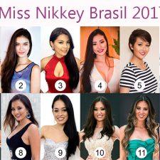Finalistas Miss Nikkey Brasil 2017