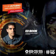 Ed Boon vem para a #BGS10
