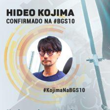 Hideo Kojima é confirmado para a #BGS10