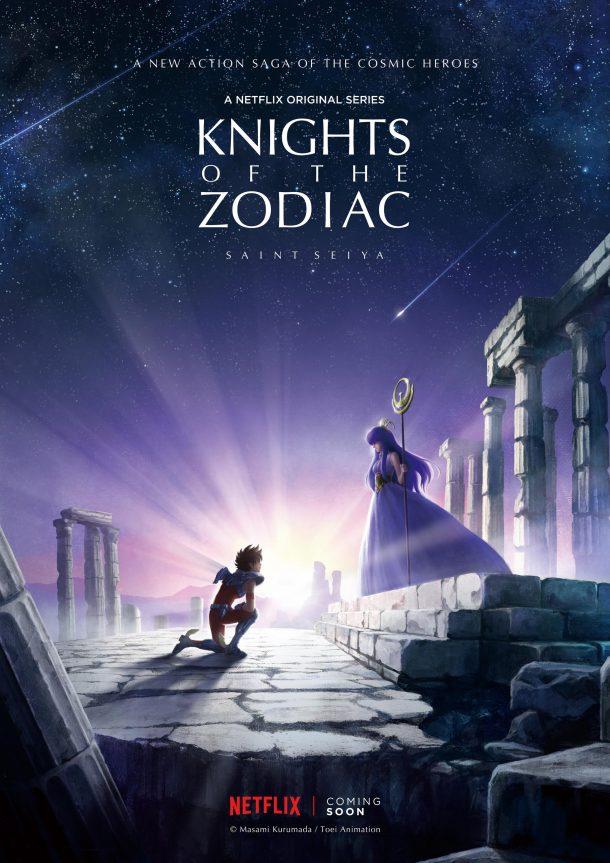 Os Cavaleiros do Zodíaco na Netflix