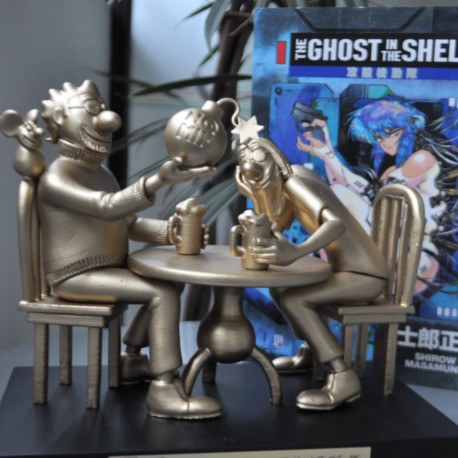 The Ghost in the Shell recebe Troféu HQMix
