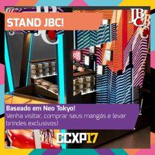 Estande JBC na CCXP 2017