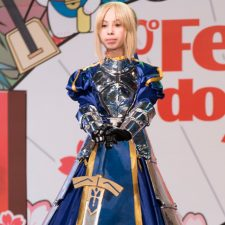 Akiba Cosplay no Festival do Japão
