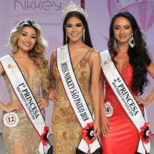 Vencedoras do concurso Miss Nikkey