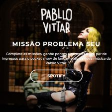Pabllo Vittar realiza ação cultural junto a lançamento de novo single